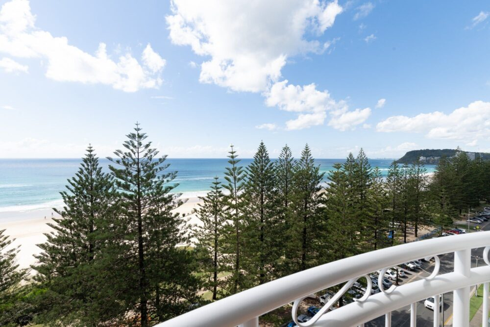 Burleigh Med Resort 1 Bedroom Oceanview Apartment