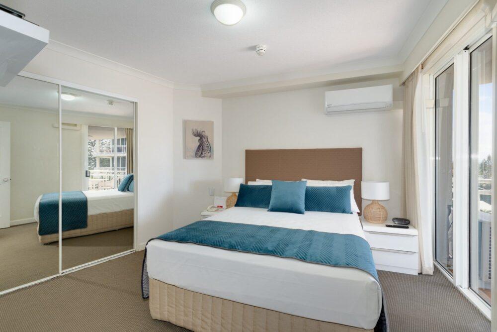 1 Bed Ocean View Superior master bedroom