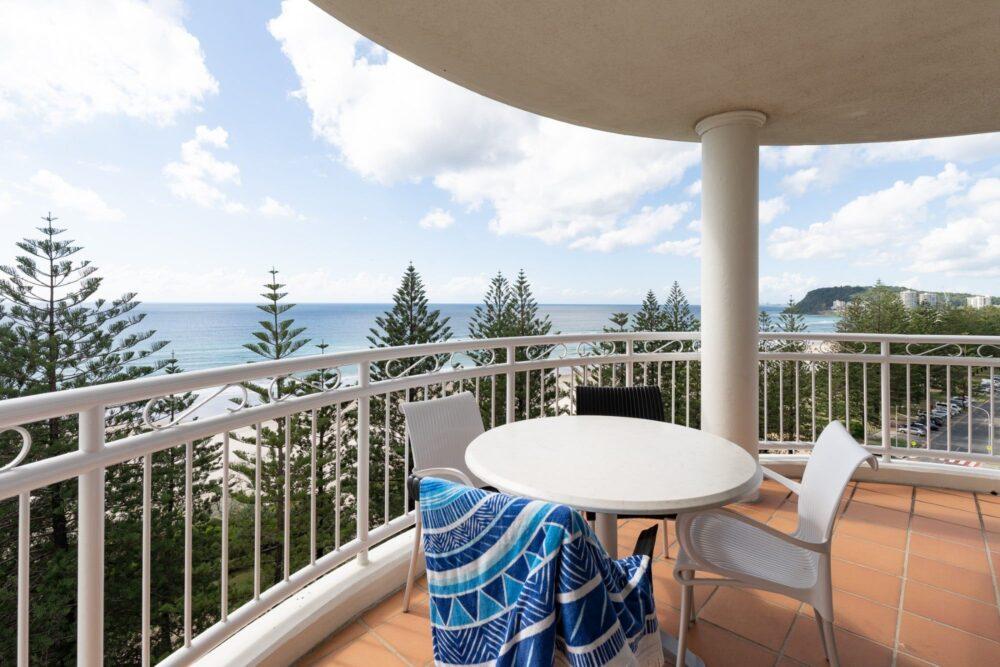 2 Bed Ocean View Balcony